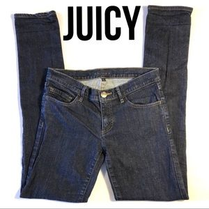 JUICY COUTURE Skinny Jeans dark rinse 27 excellent